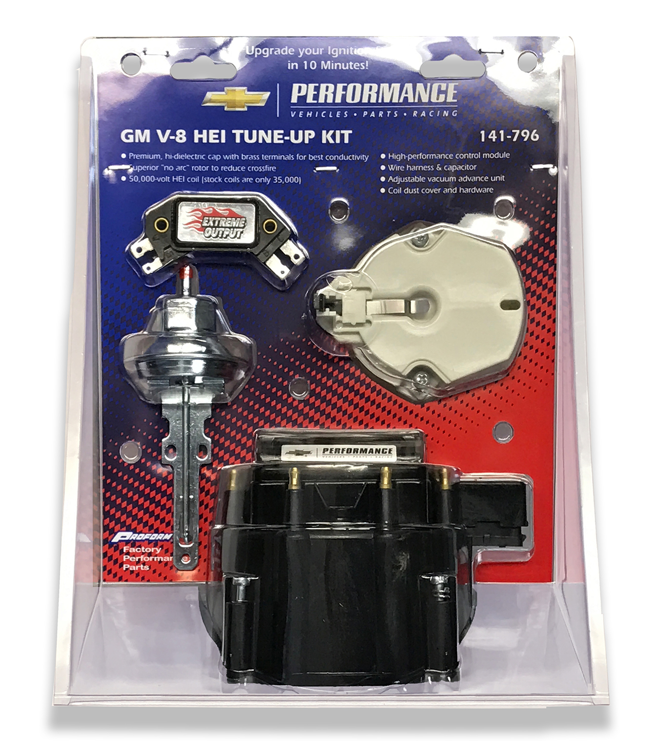 Engine Distributor Tune Up Kit Fits Gm Hei V8 Dist W Internal Coil Module Wiring View The Full Image