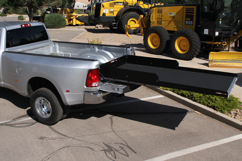 slide out truck bed tray, low profile deck, 2200 lb capacity 100