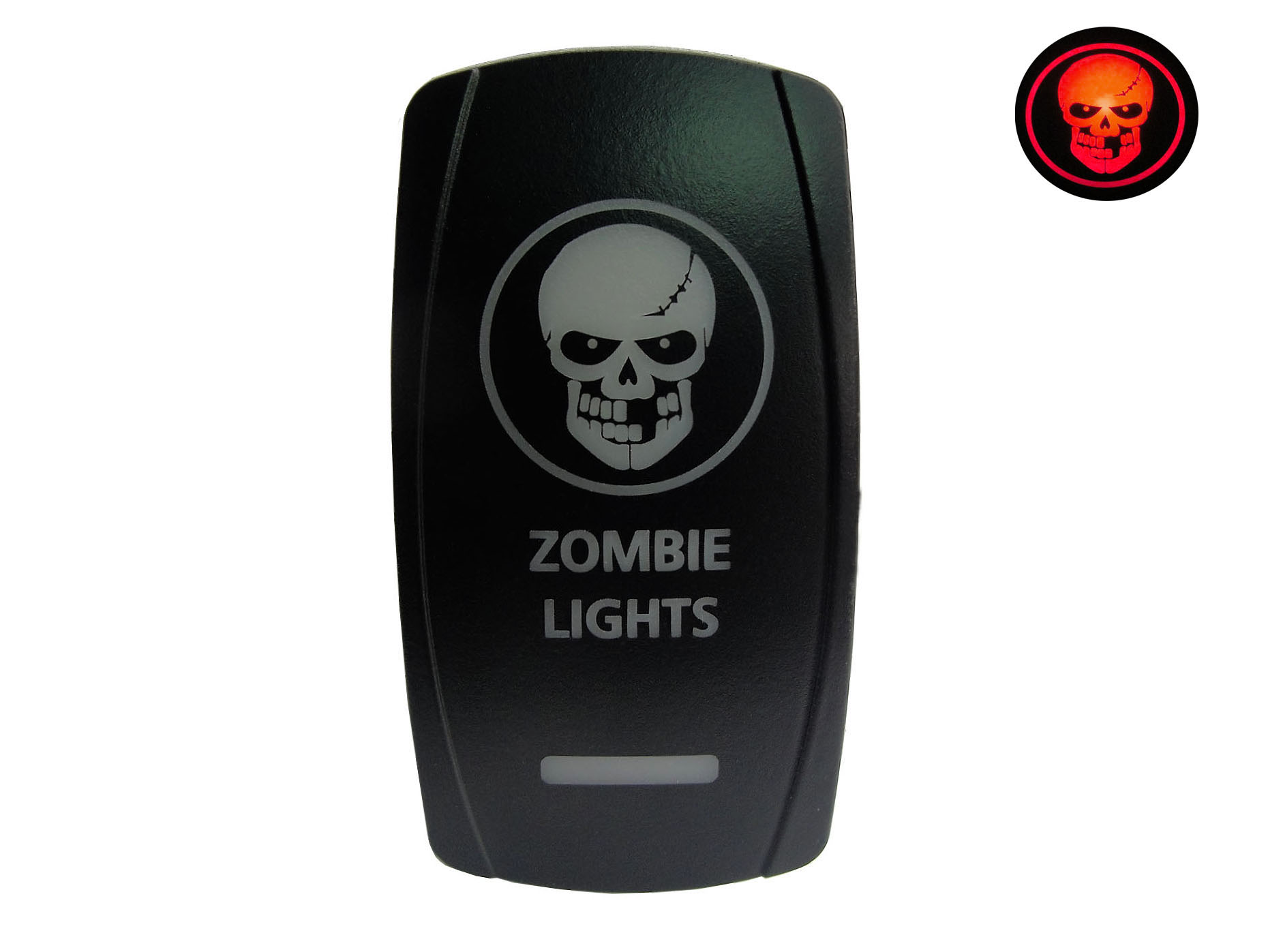 Lighted Toggle Switch Zombie Dpdt Jd Supply Llc How To Install A Rocker View The Full Image